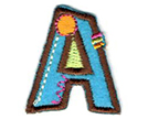 Alphabet Iron-On Motifs