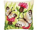 Butterflies Cross Stitch Cushion Kits