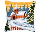 Christmas Cross Stitch Cushion Kits