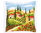 Country Scenes Cross Stitch Cushion Kits