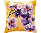 Floral Cross Stitch Cushion Kits