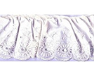 Frilled Cotton Polyester Lace