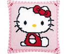 Hello Kitty Cross Stitch Cushion Kits