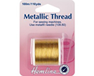 Hemline Metallic Sewing Thread