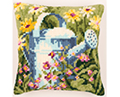 Home and Garden Cross Stitch Cushion Kits