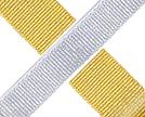 Metallic Grosgrain Ribbon