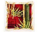 Oriental Cross Stitch Cushion Kits