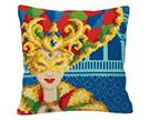 People Cross Stitch Cushion Kits