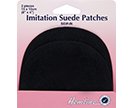 Sew-On Imitation Suede Patches