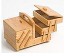 Wooden Sewing Boxes