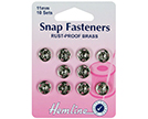 Sew-On Snap Fasteners