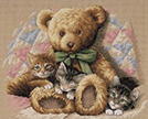 Teddy Bears Cross Stitch Kits