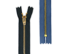 YKK Brass Jeans Zips