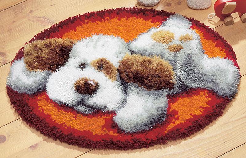 Вышивка крючком ковров 97