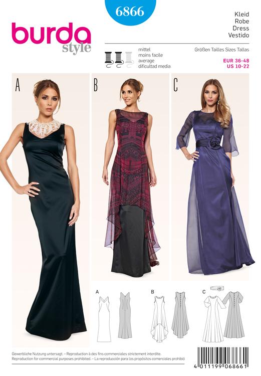 evening dress patterns - Selo.l-ink.co