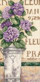 Dimensions Hydrangea Floral Counted Cross Stitch Kit