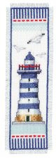 Vervaco Counted Cross Stitch Bookmark Kit. Lighthouse.