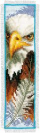 Vervaco Counted Cross Stitch Bookmark Kit. Eagle.