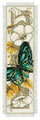 Vervaco Counted Cross Stitch Bookmark Kit. Butterfly 1.