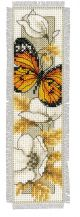 Vervaco Counted Cross Stitch Bookmark Kit. Butterfly 2.