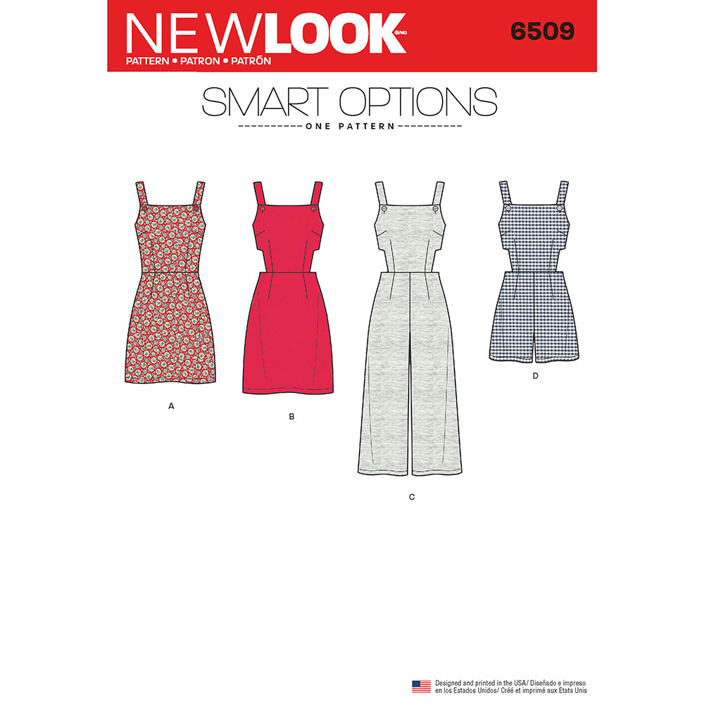 Womens Jumper, Romper, and Dress with Bodice Variations New Look ...