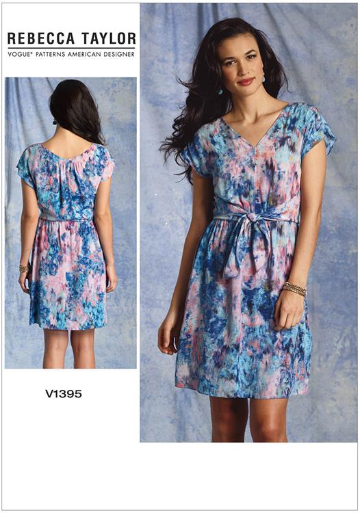 Misses Dress Vogue Pattern 1395 Sew Essential