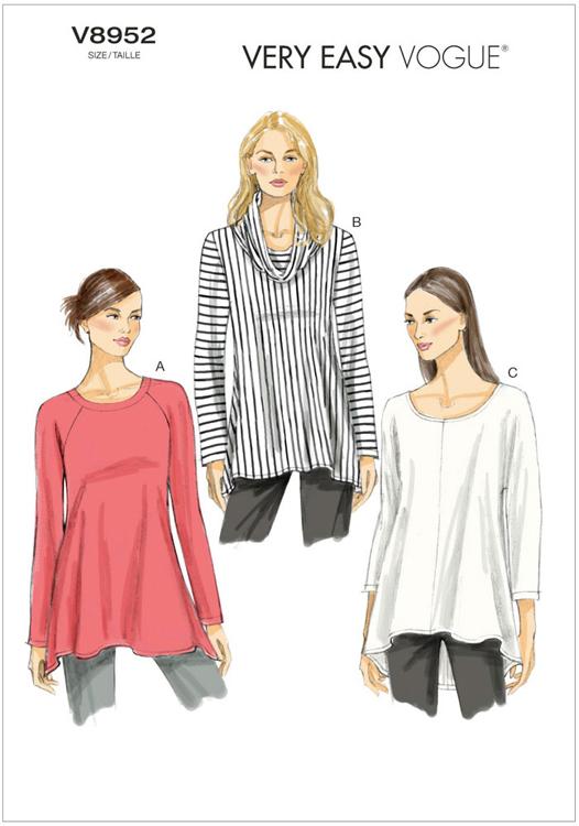 Misses Tunic Vogue Pattern 8952 Sew Essential