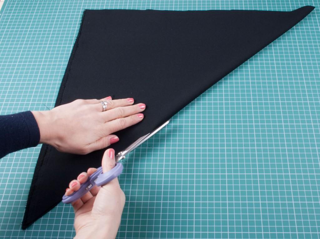 Bias Binding - Making the first cut