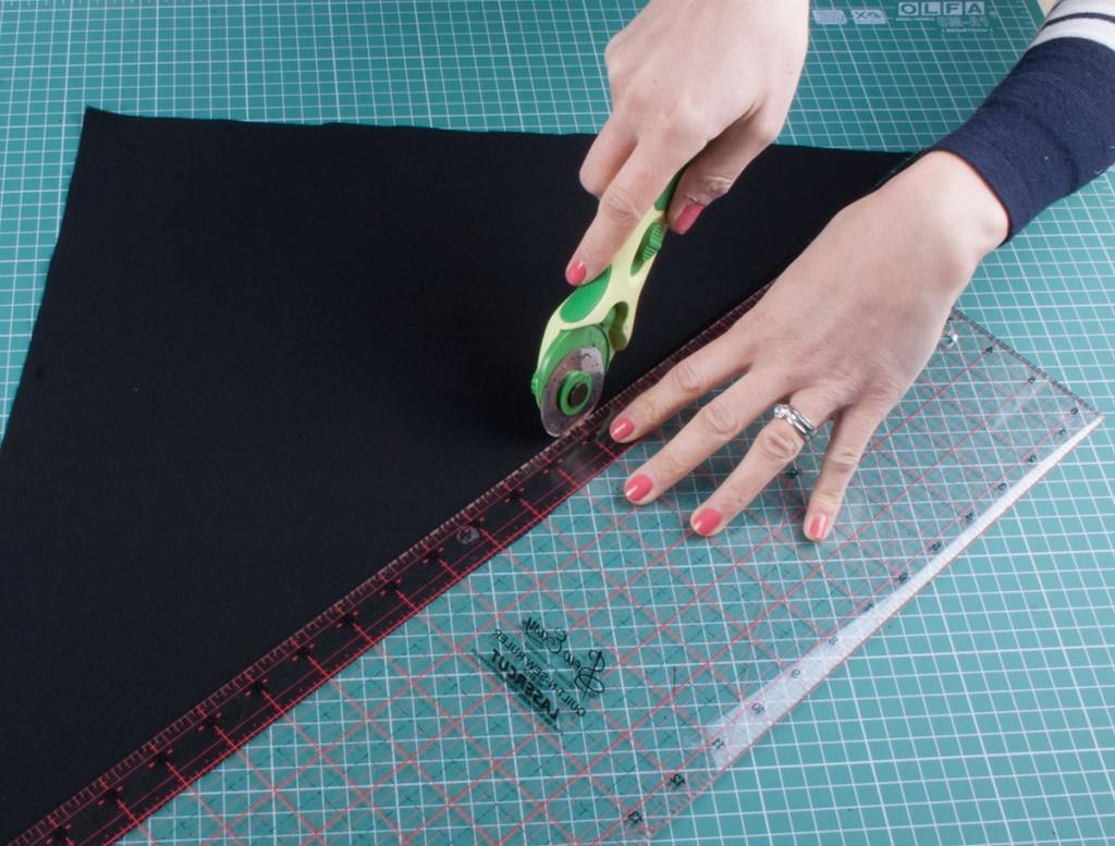 Bias Binding - Cutting the strips