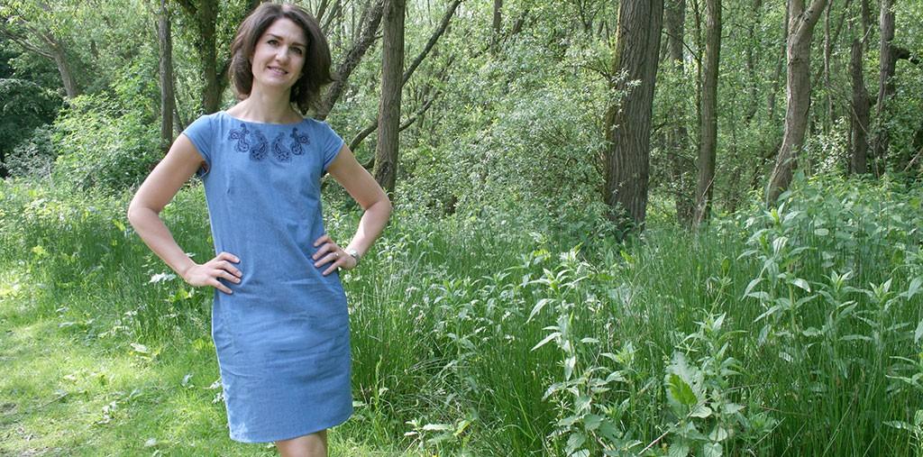 Sewing a Denim Dress