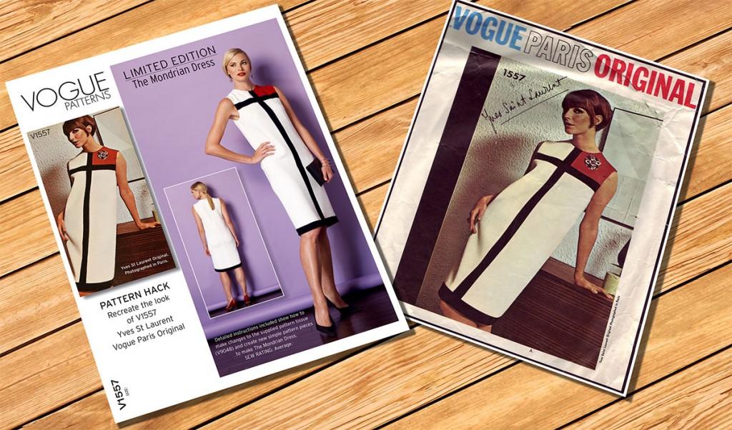 Vogue 1557 Mondrian Dress Pattern