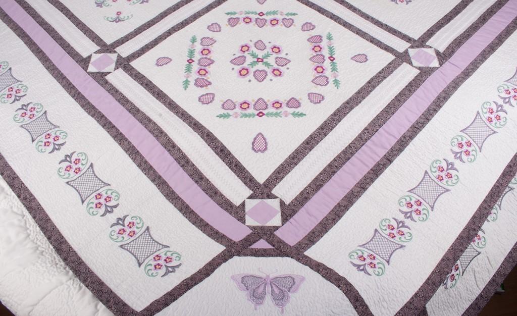 Machine Embroidered Quilt