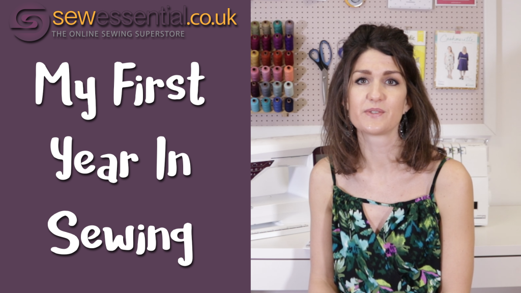 Starting Sewing - My First Year In Dressmaking