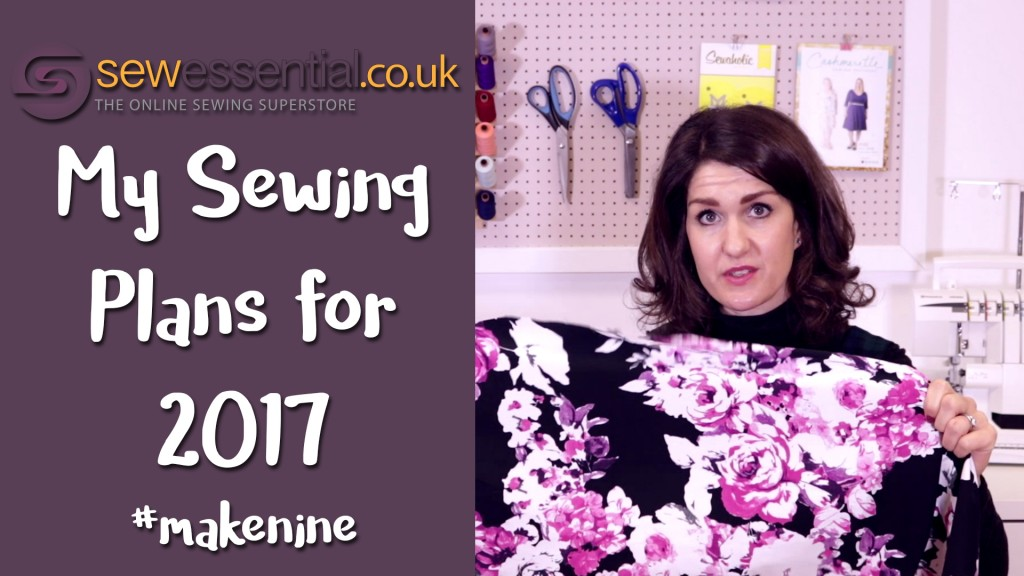 My Sewing Plans for 2017 #makenine