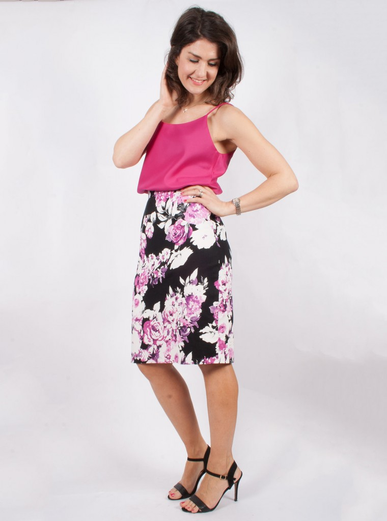 Pencil Skirt and Cami Top