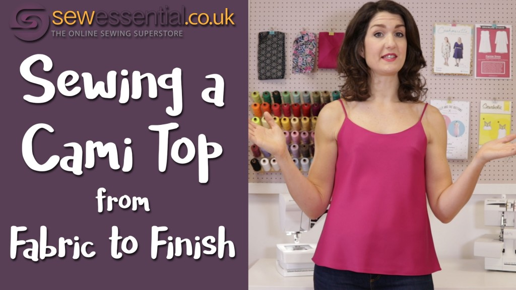 Sewing a Cami Top