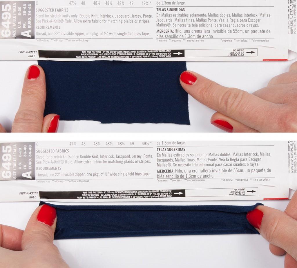 Stretch Fabric Test
