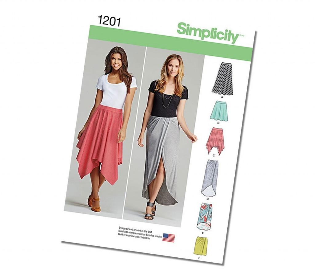 Handkerchief Hem Skirt Pattern