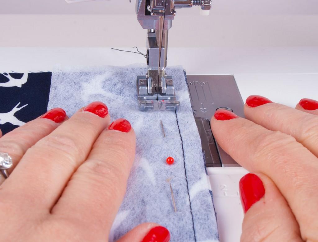 Applying Sew In Interfacing
