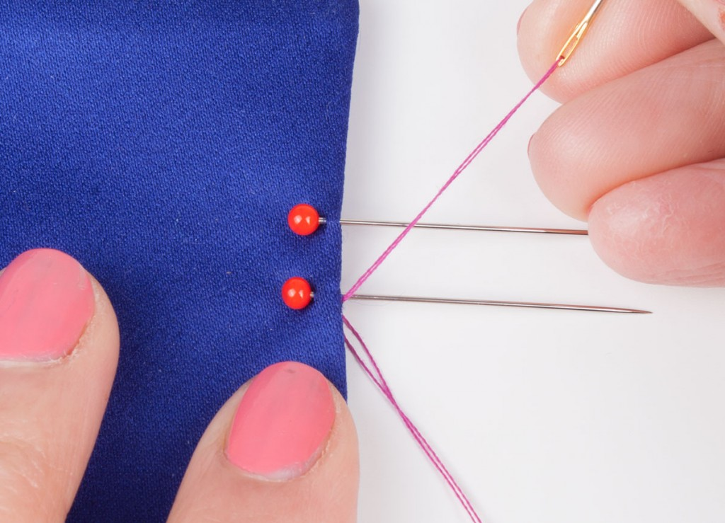 Sewing a Hand Sewn Button Loop