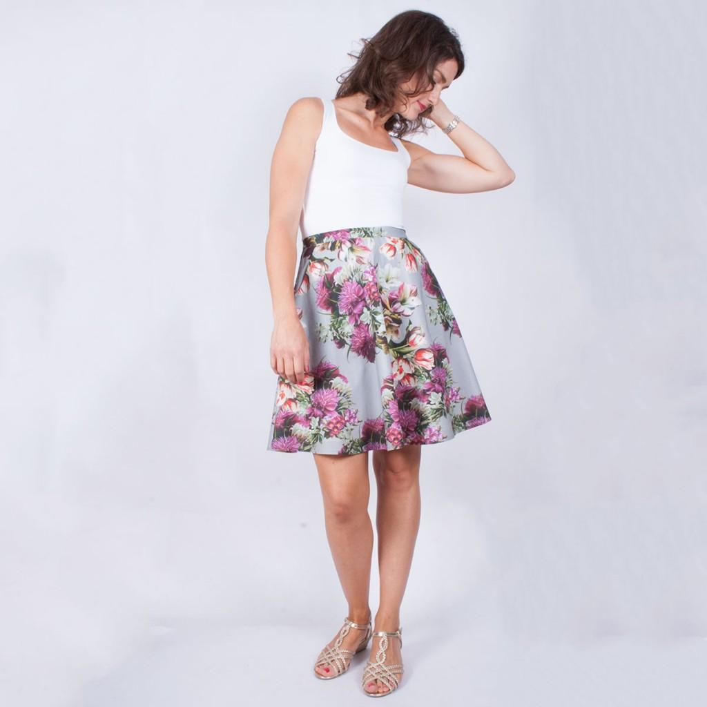 Sewaholic Hollyburn Skirt view 3