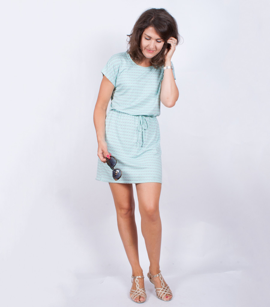 Sewing A Simple T-Shirt Dress