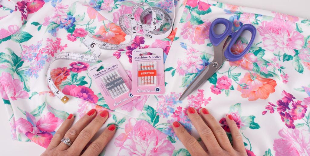 Sewing in Scuba