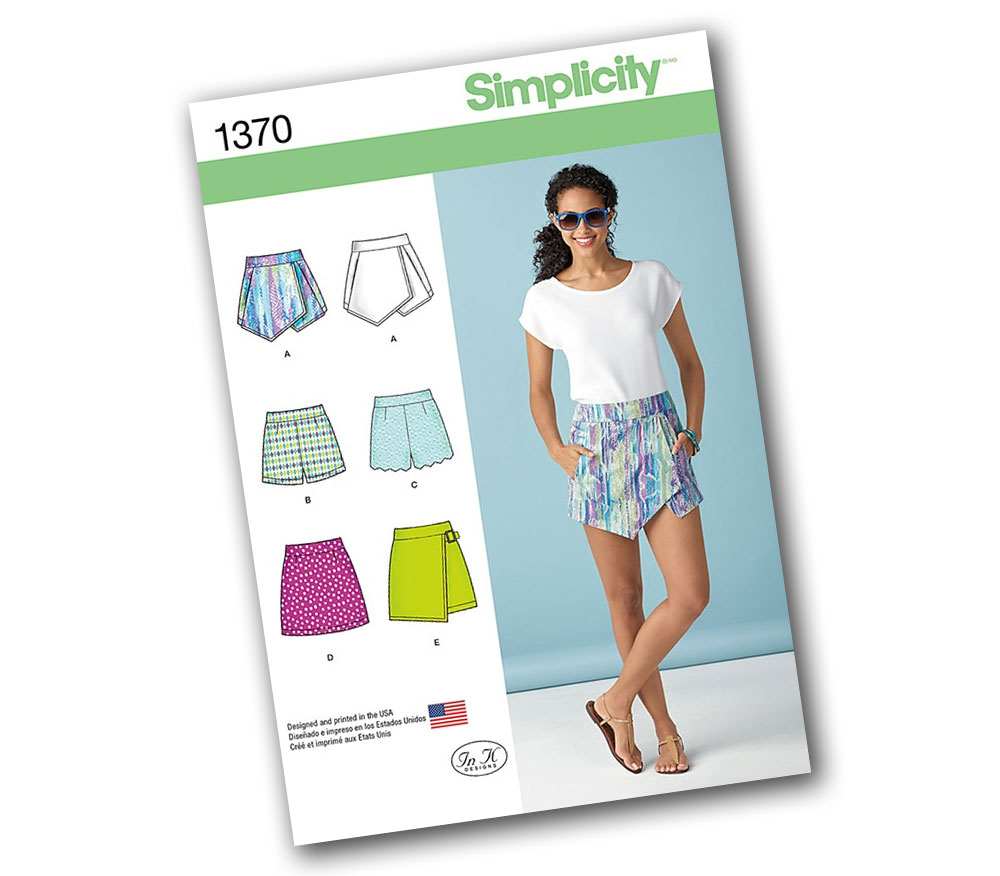 Simplicity 1370 Pattern Packet