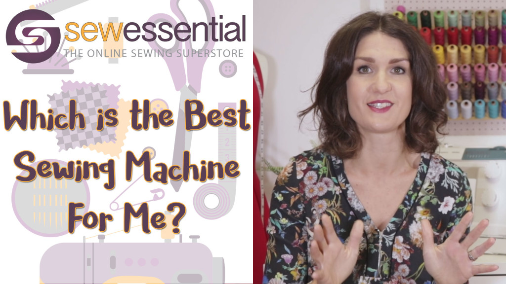 Which is the best sewing machine for me?