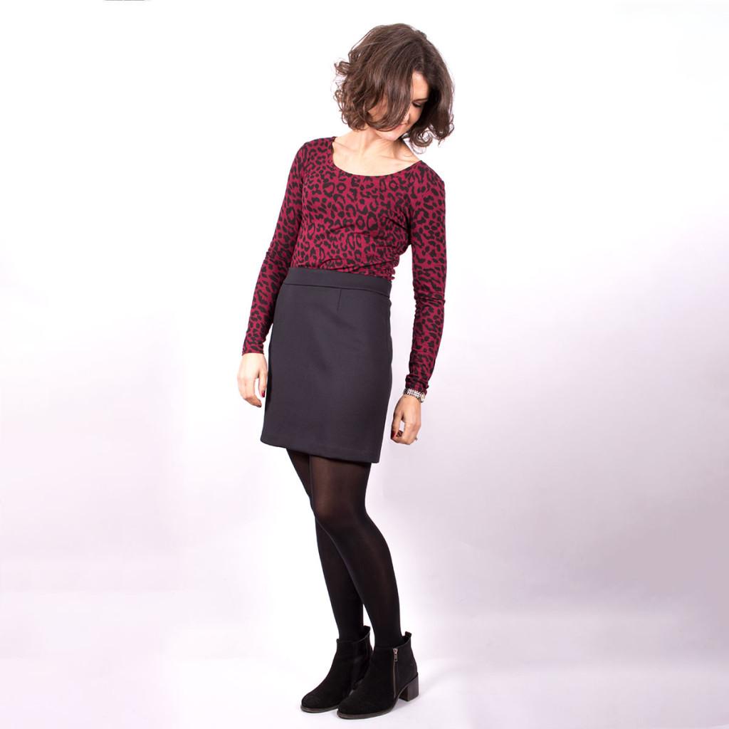 Agnes Top and Scuba Skirt