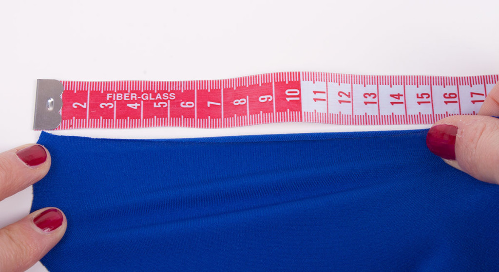 Calculating Percentage Stretch in Stretch Fabrics