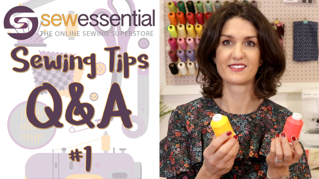 Sewing Tips Q&A #1 Vlog