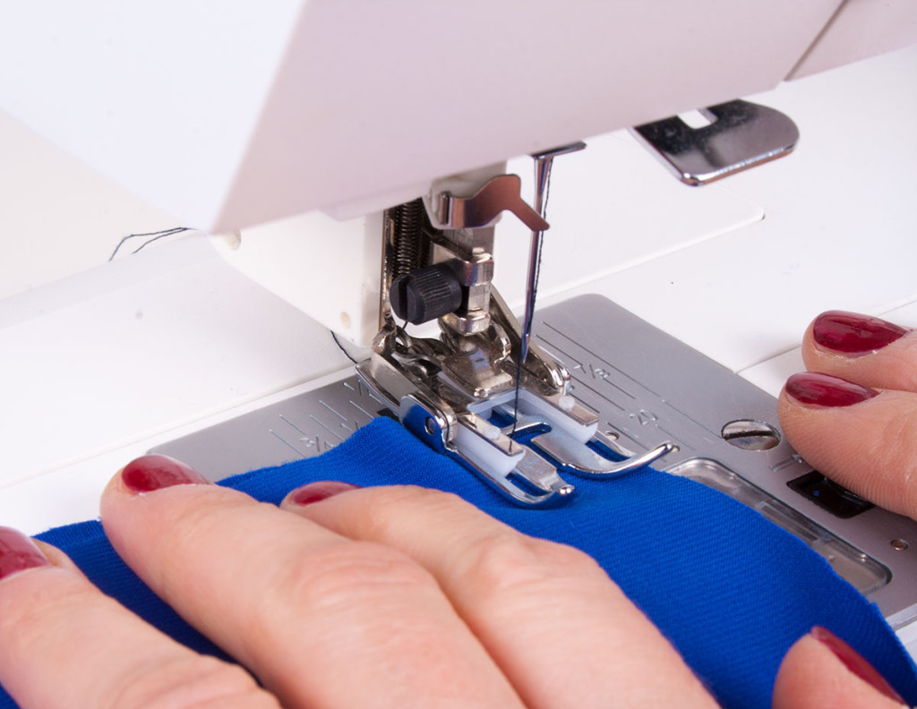 Using a Walking Foot on a Sewing Machine