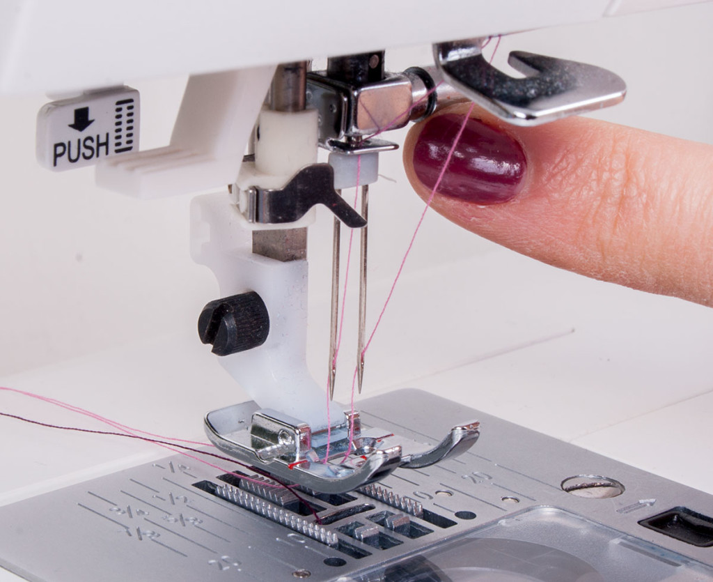 How to Thread a Twin Needle